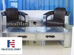 vine aluminum aviator chair with