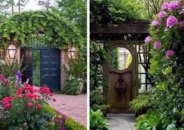 26 ideas for garden gates and garden