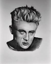 James Dean Drawing by Adriana Holmes