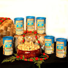 mauna loa macadamia nuts 6 pack gift set