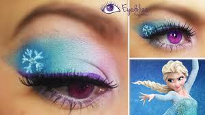 disney frozen elsa inspired eyeshadow