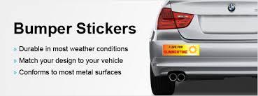 Custom Bumper Stickers Make Your Own Bumper Sticker