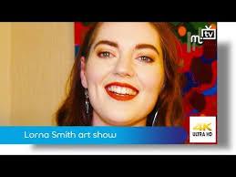 Lorna Smith art show - YouTube