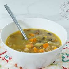 chunky vegetable soup recipes
