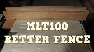 Makita Mlt100 Table Saw Rip Fence Upgrade Youtube