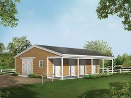 barnhart horse barn plan 002d 7522