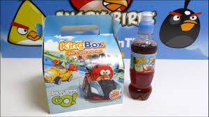 Angry Birds Burger King KingBox Angry Birds GO Red Bird Toys - YouTube