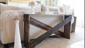 15 diy sofa tables you can build easily