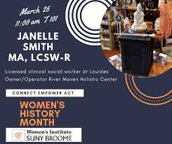 March 26 guest speaker: Health and Healing with Janelle Smith | The Buzz