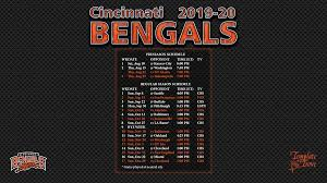 2019 2020 cincinnati bengals wallpaper