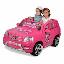 12 Volt Minnie Mouse Mercedes Battery Powered Ride On Your Little Ones Will Ride In Luxury Walmart Com Walmart Com