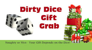 dirty dice gift grab game