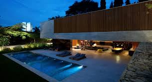 modern house with open design
