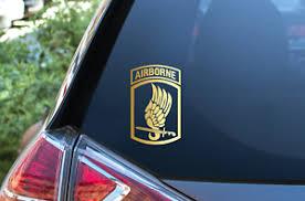Decal Sticker For Car Window Patch Army 173rd Airborne Brigade Veteran Vinyl Ebay