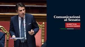 Giuseppe Conte - In diretta dal Senato la mia replica al...