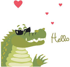 Amazon Com Dekosh Alligator Kids Wall Decals For Boys Bedroom Peel Stick Baby Nursery Wall Stickers For Kids Room Playroom Arts Crafts Sewing