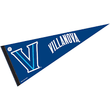 College Flags And Banners Co Villanova Wildcats 12 X 30 Felt College Pennant Walmart Com Walmart Com