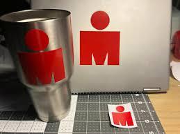 Ironman Half Im Triathlon Mdot Vinyl Sticker Decal Tri 70 3 Logo 140 6 Ebay