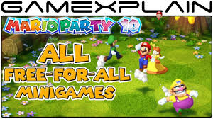 mario party 10 every free for all