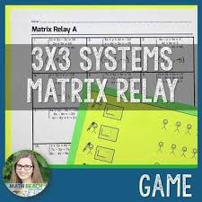 matrix relay activity matrix