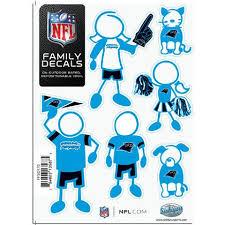 Carolina Panthers Family Decals Family Car Decals Carolina Panthers Decal