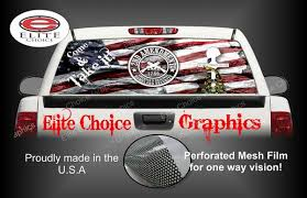 2nd Amendment Gun Rights Rear Window Perforated Wrap Graphics Sticker Decal Vehicle Truck Car