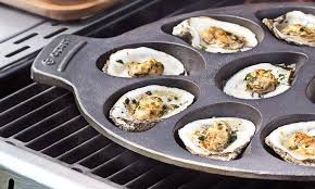 Outset 76225 Cast Iron Oyster Grill Pan ...