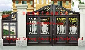 china wrought iron main entrance gate