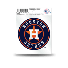 Houston Astros Logo Static Cling Sticker Decal Window Or Car 3x4 Inches For Sale Online Ebay