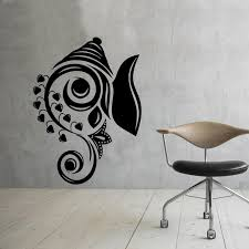 Art Design Ganesha Wall Decals Vinyl Stickers Home Decor Indian Elephant Removable Wall Sticker Indian Home Decor Olivia Decor Decor For Your Home And Office