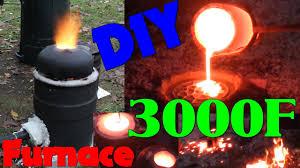 diy iron furnace build you