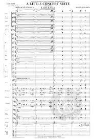 A Little Concert Suite (Alfred Reed) » Sheet Music for Concert Band