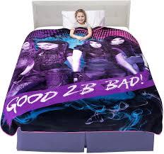 Amazon Com Franco Kids Bedding Super Soft Plush Microfiber Blanket Twin Full Size 62 X 90 Disney Descendants 3 Garden Outdoor
