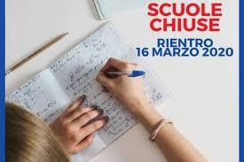 SCUOLE CHIUSE - si riparte il 16 Marzo 2020 - Comune di Sansepolcro