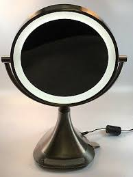 portable double sided 9 vanity mirror