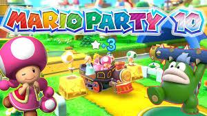 mario party 10 mushroom park wii u