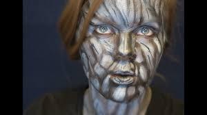 tree bark makeup tutorial