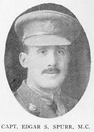 "Capt Edgar Smith Spurr, MC | ""He was a born leader of men, w… | Flickr"
