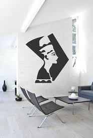Ik1015 Wall Decal Sticker Nufertiti Egyptian Queen Bedroom Stickersforlife