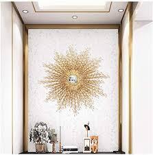 com starburst round wall mirror