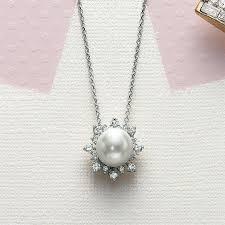 pearl pendant necklace webcrop co
