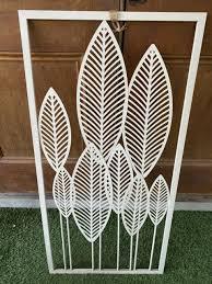 metal leaf wall art outdoor suitable