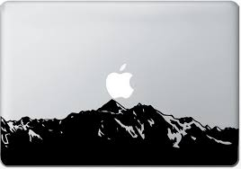 Amazon Com Mountain Macbook Decal Mac Decal Macbook Pro Laptop Sticker Vinyl Decal Mac Apple Skin 13 15 17 Computers Accessories