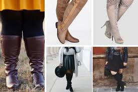 for plus size wide calf boots