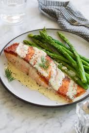 Salmon (with Creamy Garlic Dijon Sauce ...