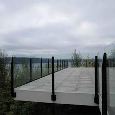 Glass Railing Topless Deck Glass Railing Stainless Steel Post Glass Balustrade For Sale Post Glass Railing Manufacturer From China 108857597