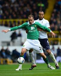 Younes Kaboul, Aaron Wilbraham - Aaron Wilbraham Photos - Tottenham Hotspur  v Norwich City - Premier League - Zimbio