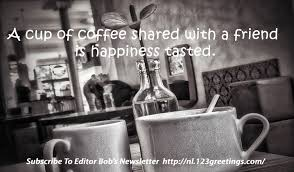 coffee and friends a perfect blend