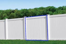 Vinyl Privacy Fence Panel Anchor Fence Fence Installation Company Serving All Of Michigan Since 1892