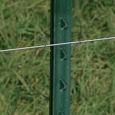 T Post Wire Clips Electric Fence Accessories Zareba